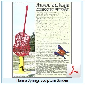 Hanna Springs Sculpture Garden