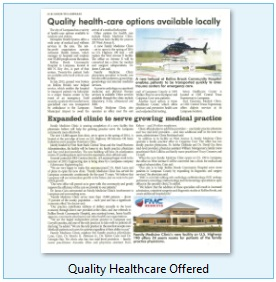 Quality Healthcare Offered